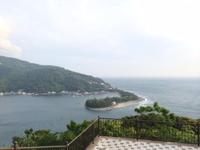 出会い岬からの画像