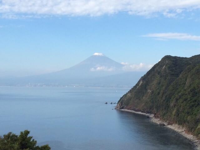 井田から眺める富士山