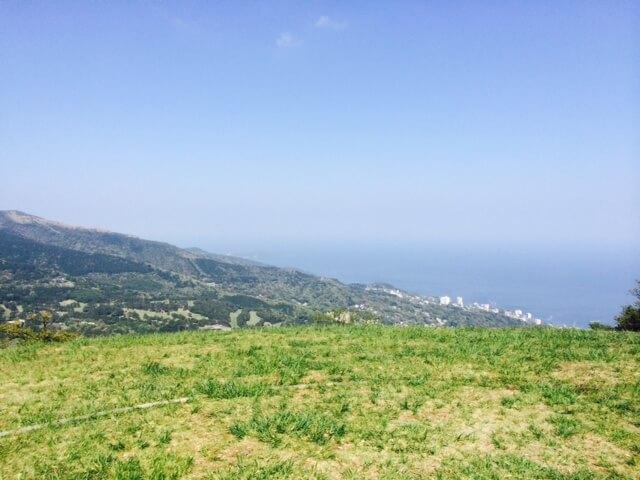 伊豆スカイラインからの熱海の眺め