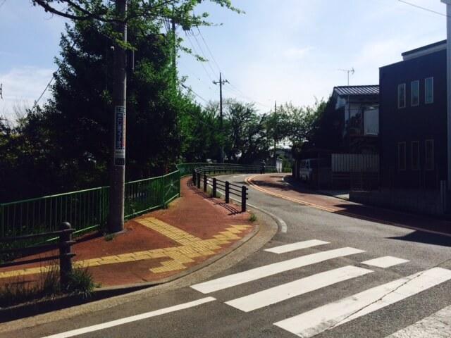 聖蹟桜ヶ丘の街並