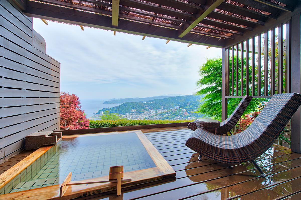 伊豆のおすすめ高級旅館 ホテルグランバッハ熱海の客室②