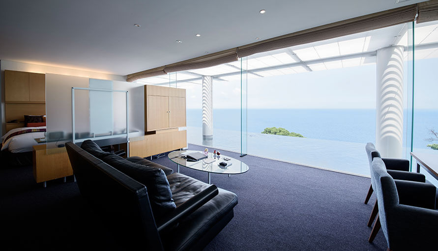 伊豆のおすすめ高級旅館 ATAMI海峯楼の客室誠波の画像2