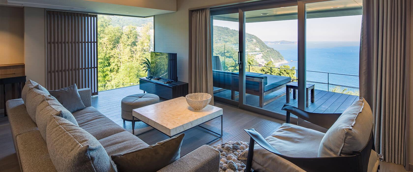 熱海の高級旅館 ATAMI せかいえの客室画像②