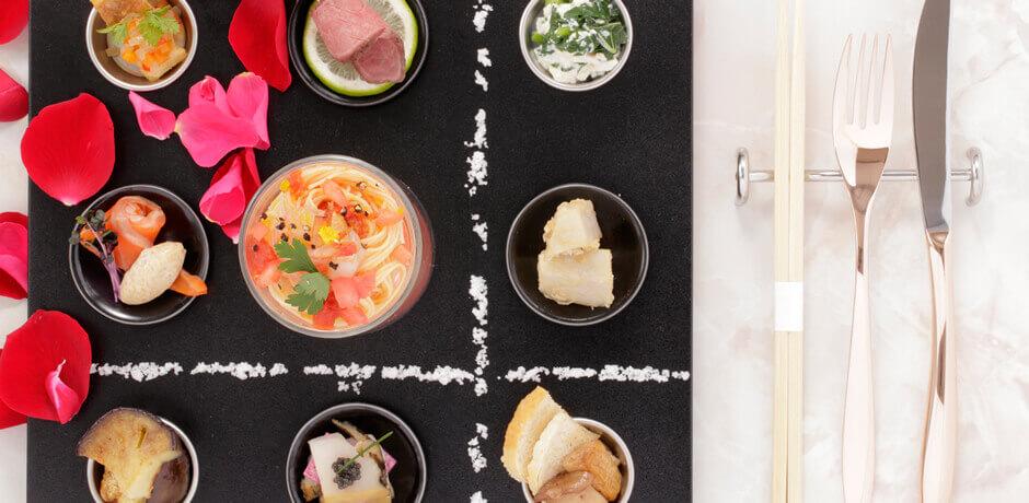 伊豆のおすすめ高級旅館 ふたりとわにの食事