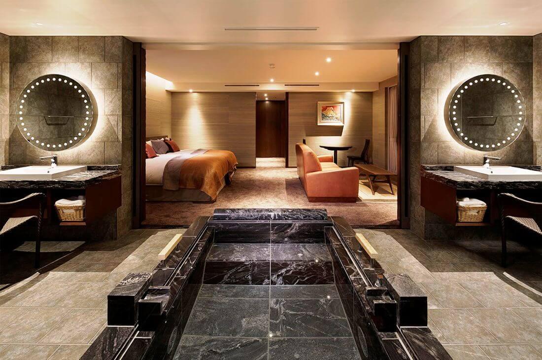 伊豆のおすすめ高級旅館 ザ・ひらまつ ホテルズ&リゾーツ 熱海の客室②