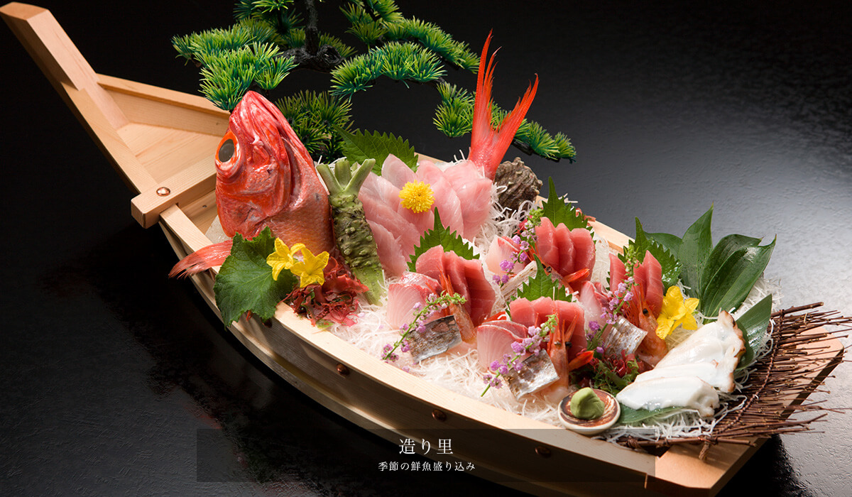 伊豆で誕生日を祝う宿 浜の湯の料理画像