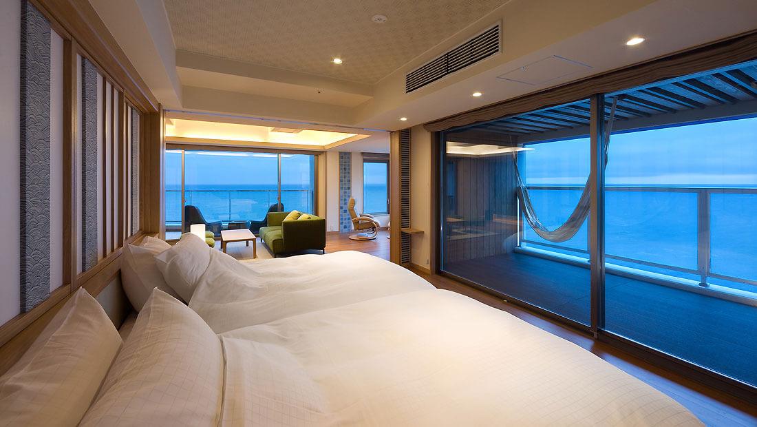 伊豆のおすすめ高級旅館 浜の湯の客室