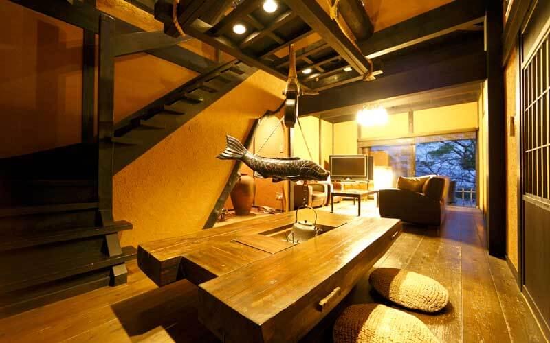 伊豆のおすすめ高級旅館 無雙庵枇杷の客室