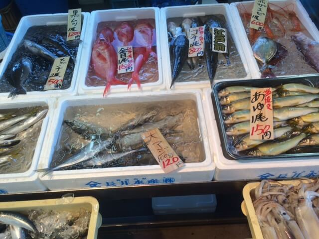長井水産の魚画像