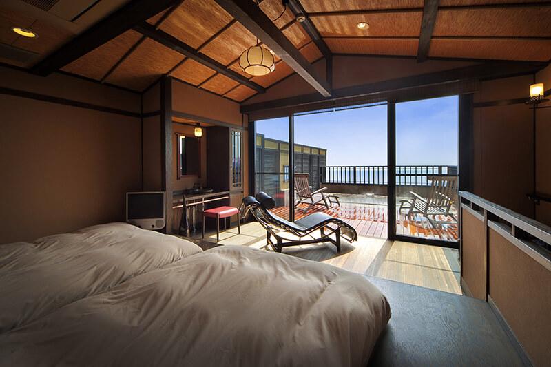 伊豆のおすすめ高級旅館 お宿うち山の客室