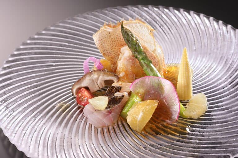 伊豆のおすすめ高級旅館 雲風々の料理
