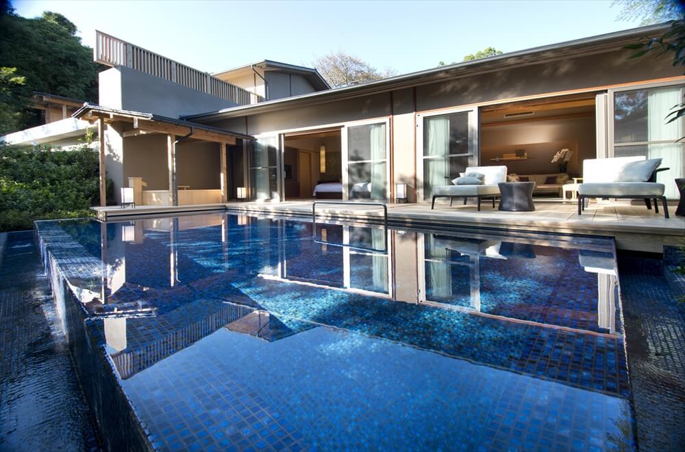 伊豆のカップル向けの旅館 ABBA RESORTS IZU 坐漁荘のヴィラ客室