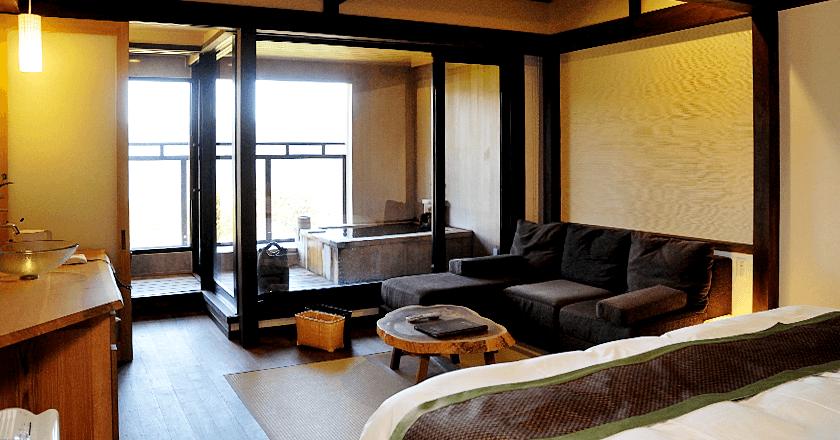 箱根のおすすめ高級旅館 強羅花扇の客室