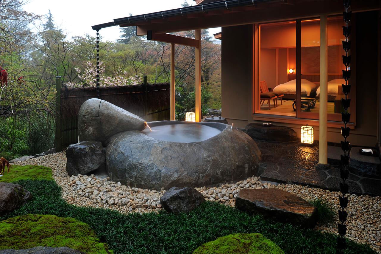 箱根のおすすめ高級旅館 強羅花壇の客室