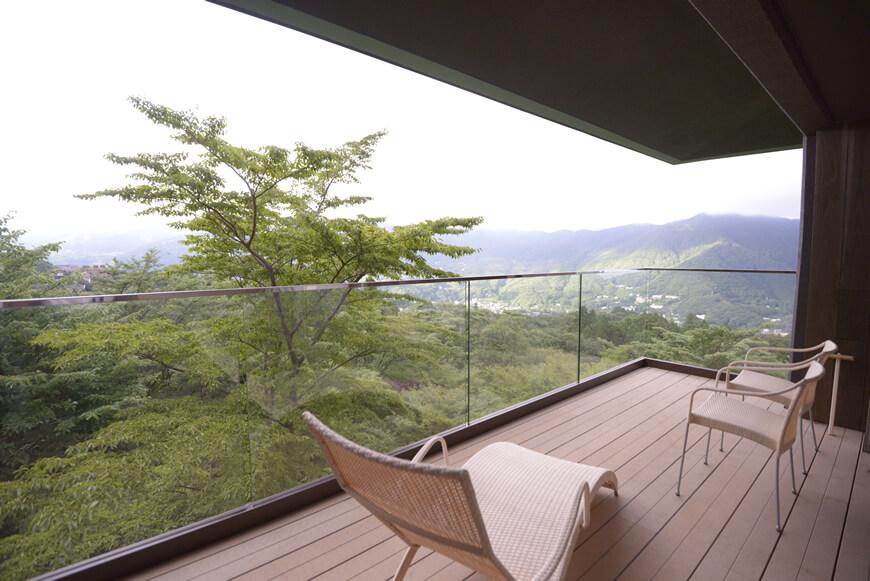 箱根のおすすめ高級旅館 箱根強羅 白檀の客室