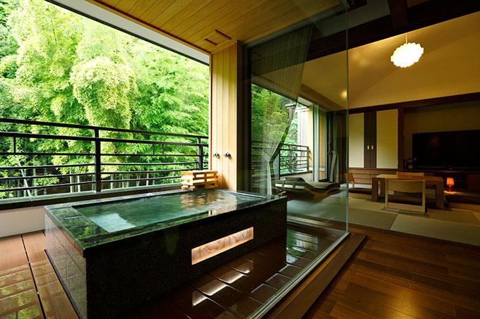 箱根のプロポーズ向きの旅館 箱根花紋の客室