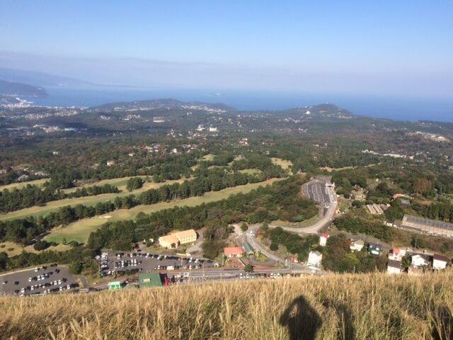 大室山からの眺め