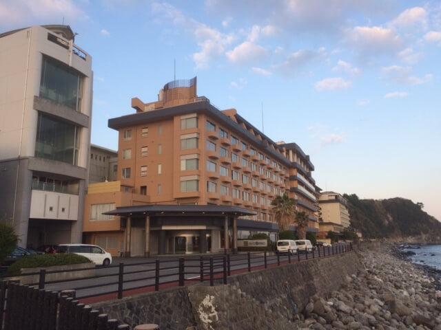 伊豆の高級旅館 いなとり荘の外観