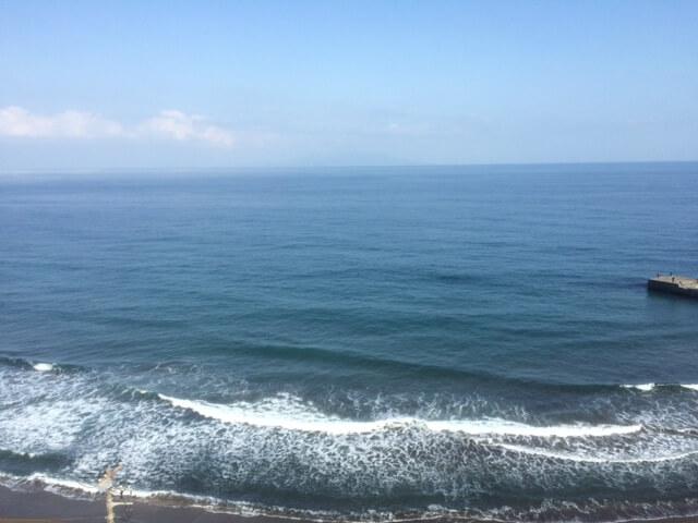 熱川館からの眺め