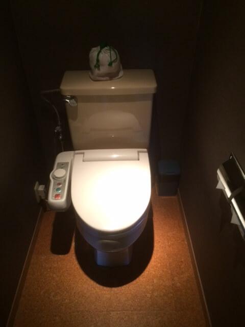 熱川館のトイレ