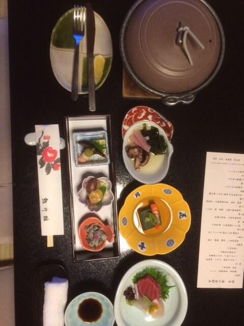 熱川館の夕食