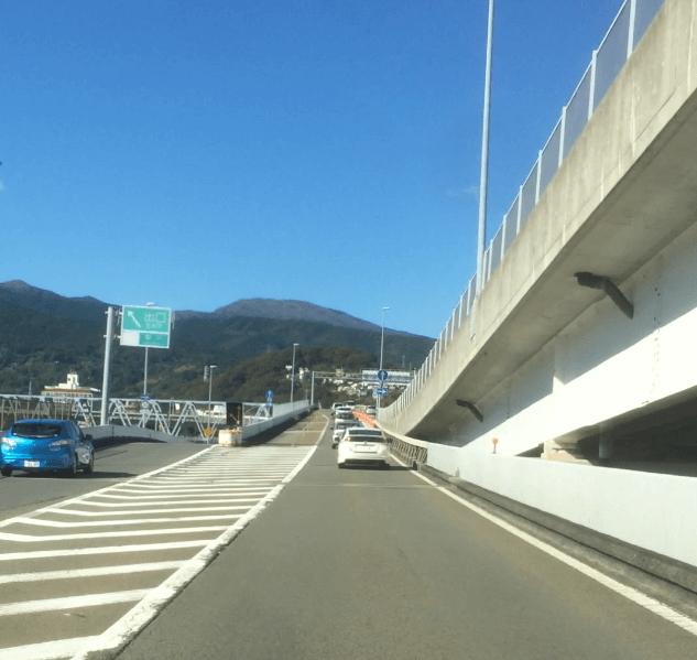 早川ic出口の画像