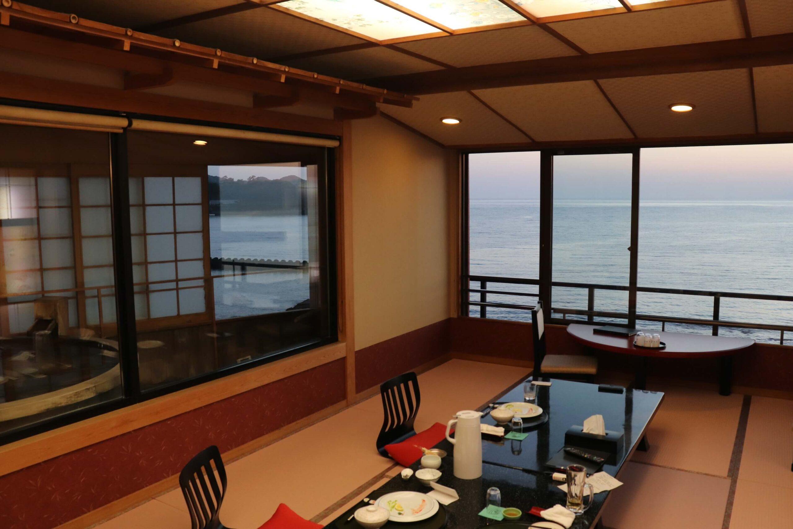 伊豆の部屋食プランのある宿の粋松亭