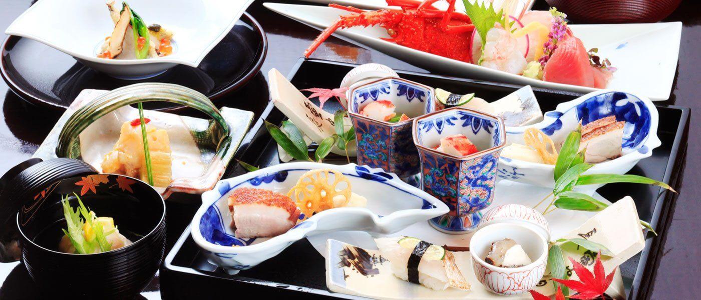 伊豆で誕生日を祝う宿 赤沢迎賓館の料理