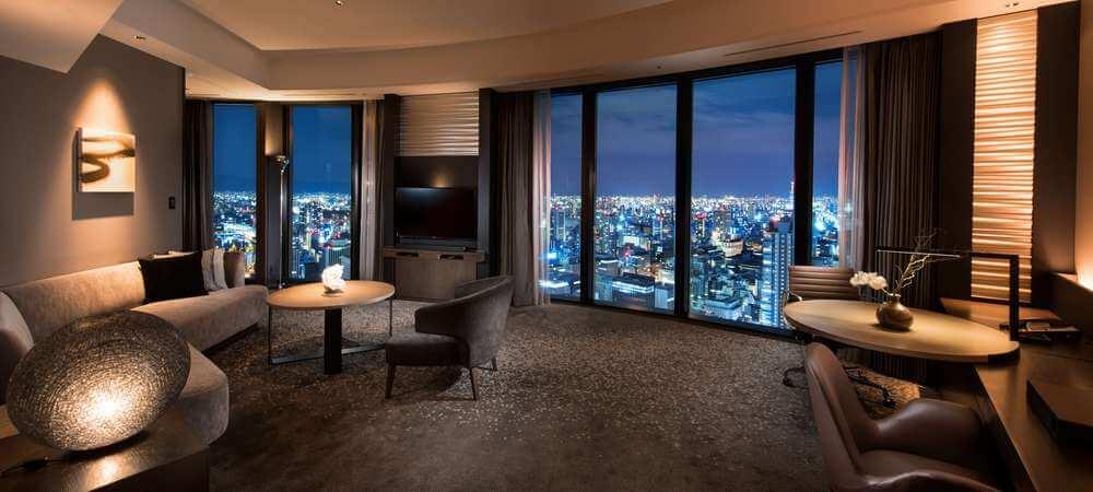 コンラッド大阪の客室