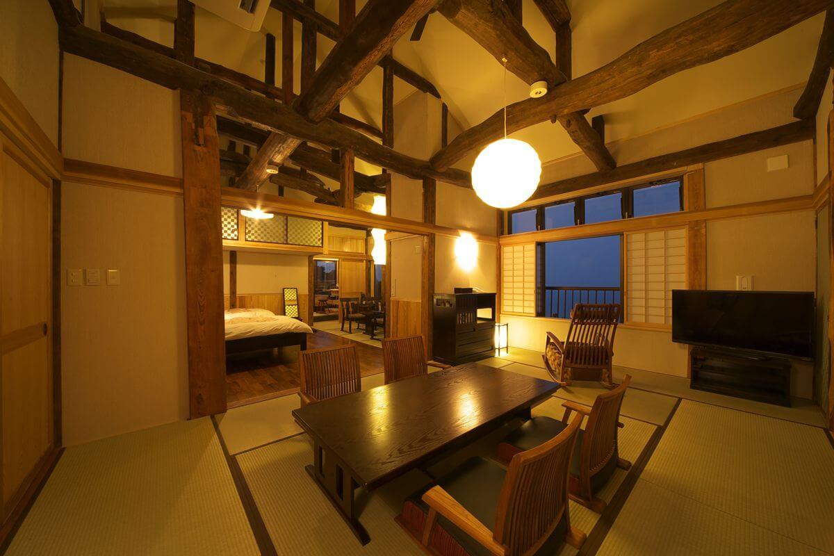 伊豆の部屋食の宿 竹林庵 みずのの客室