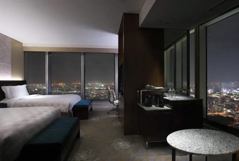 大阪マリオットホテルの客室