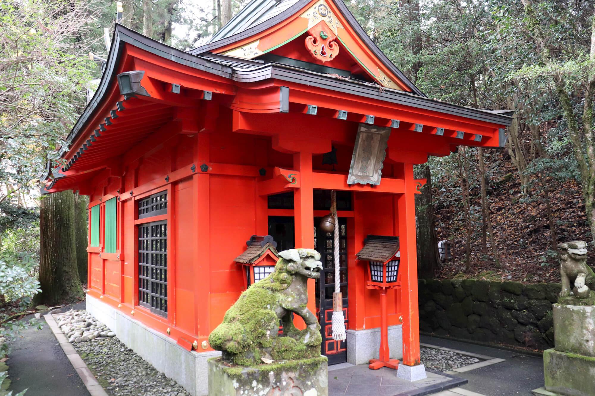 箱根神社の曽我神社
