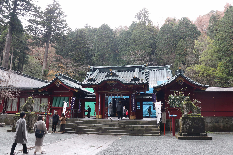 箱根神社の本堂