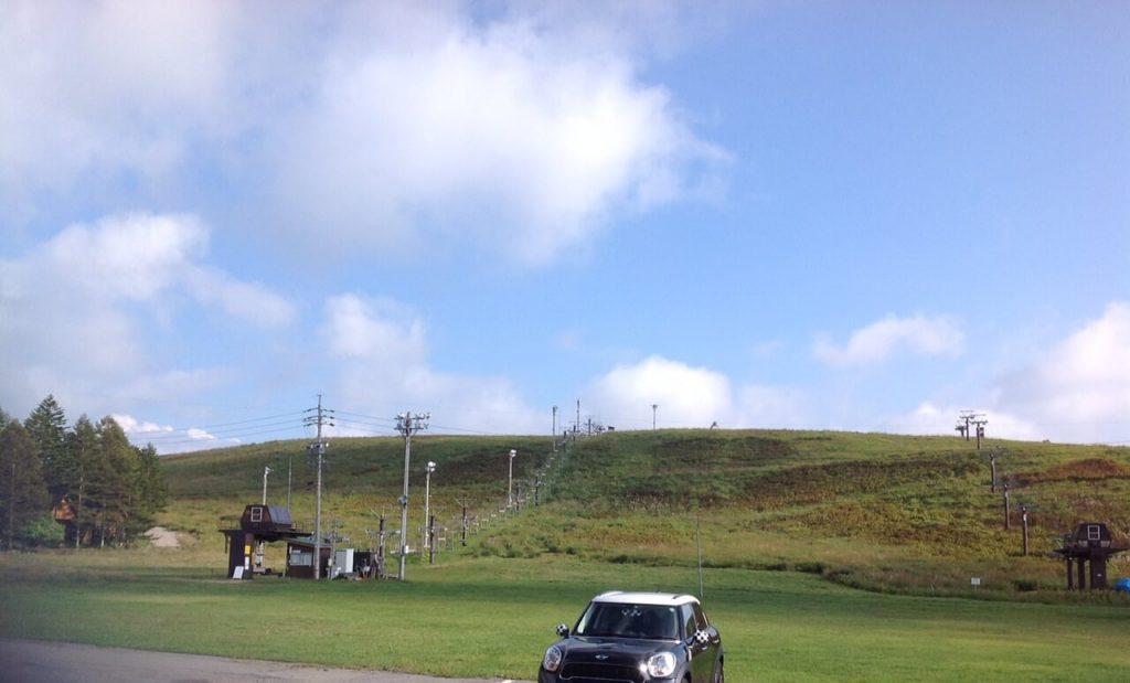 霧ヶ峰のスキー場