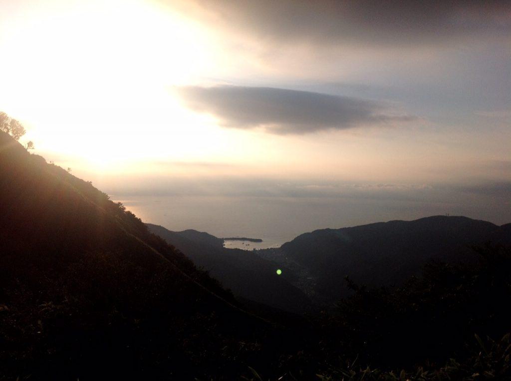 西伊豆スカイラインからの眺め