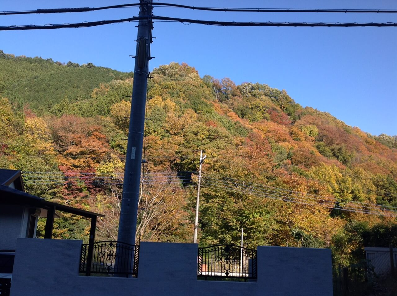 陣馬山までの道のり