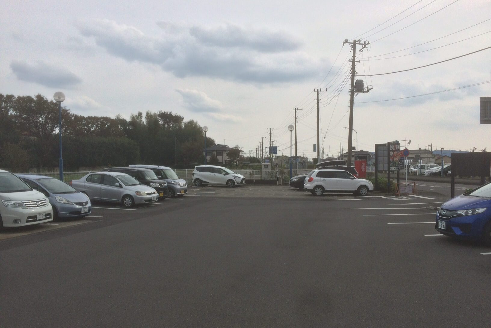 ふじ丸の駐車場