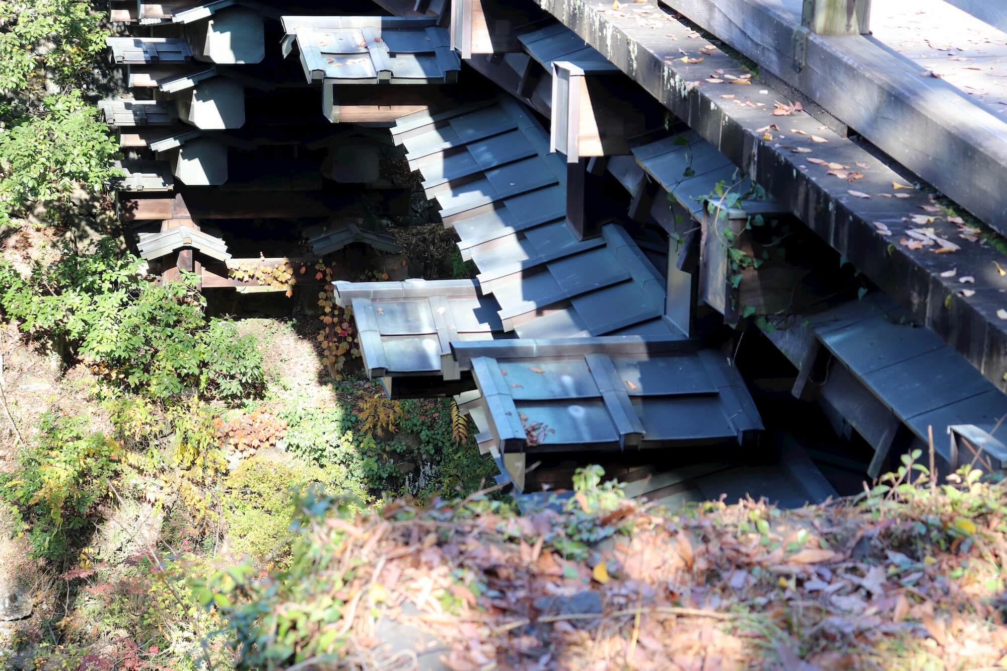 猿橋の土台