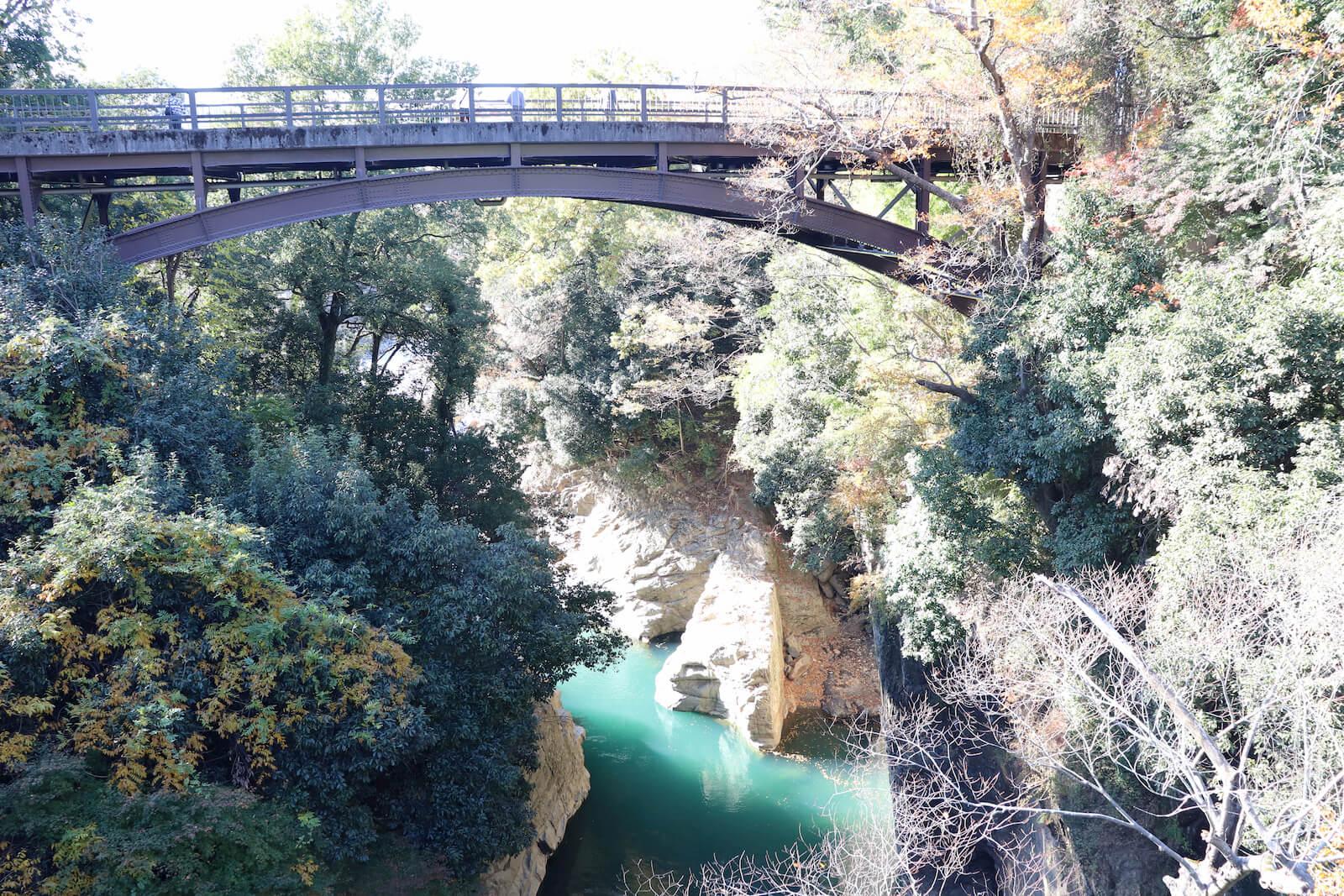 猿橋から見える桂川
