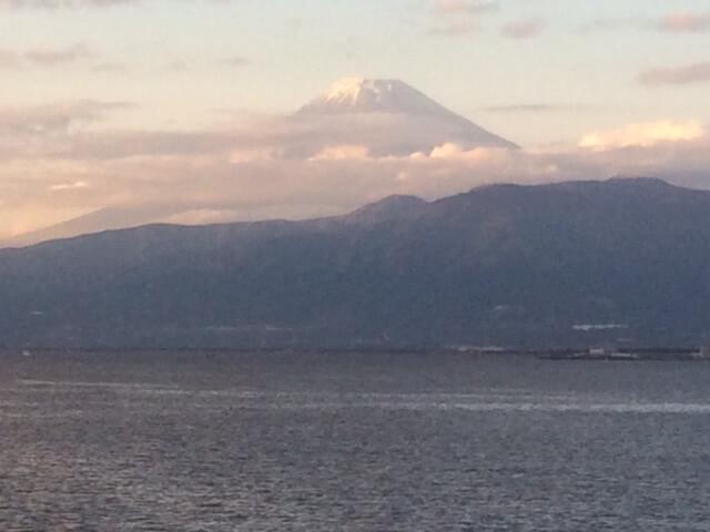 沼津から見る富士山2