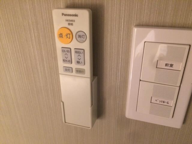 客室の照明リモコン