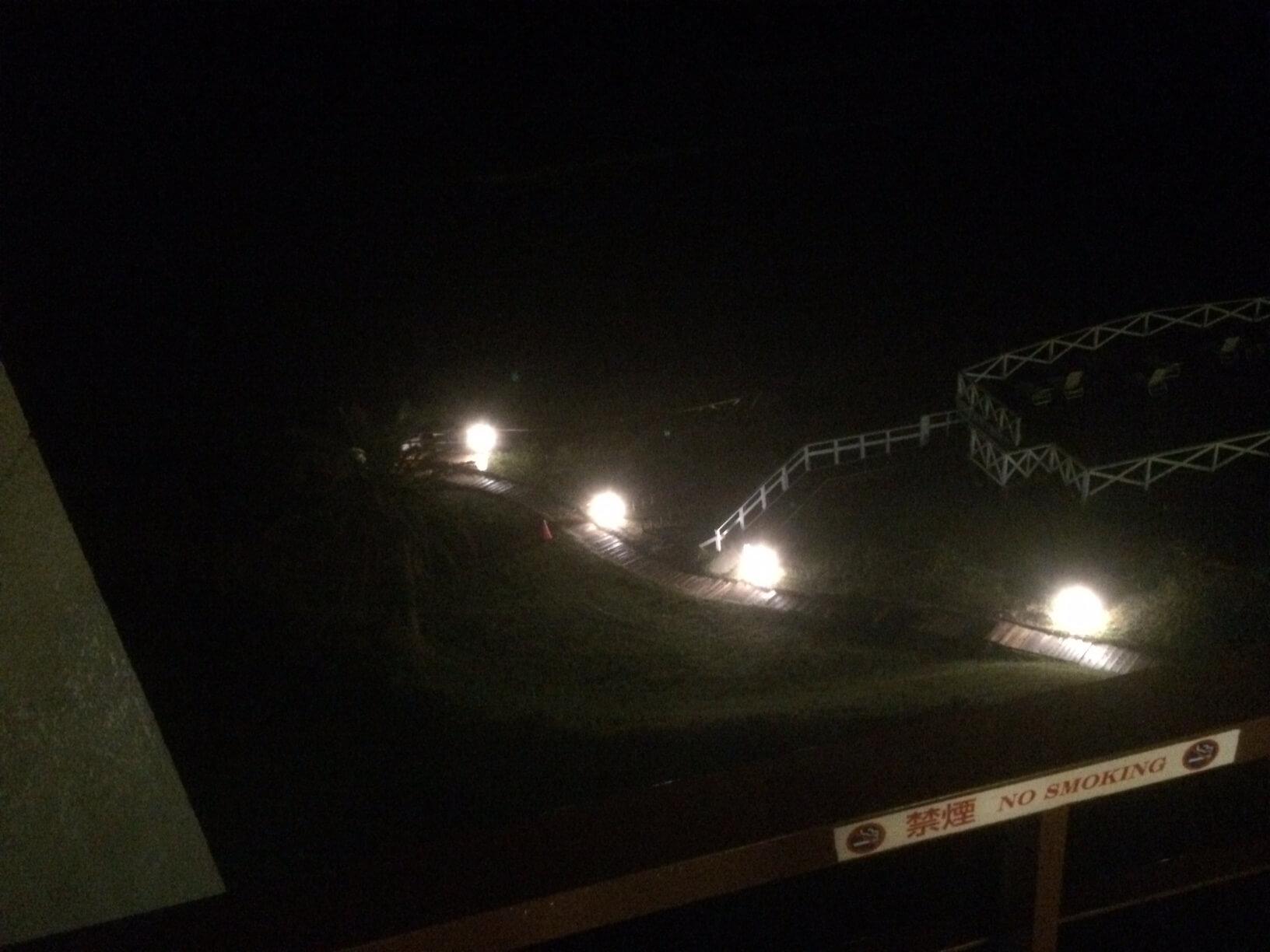 下田プリンスホテルの夜の眺め