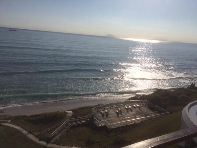 伊豆の高級旅館からの眺め