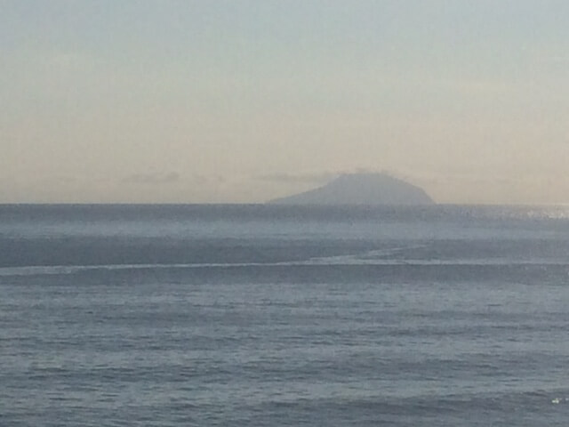 伊豆七島の利島