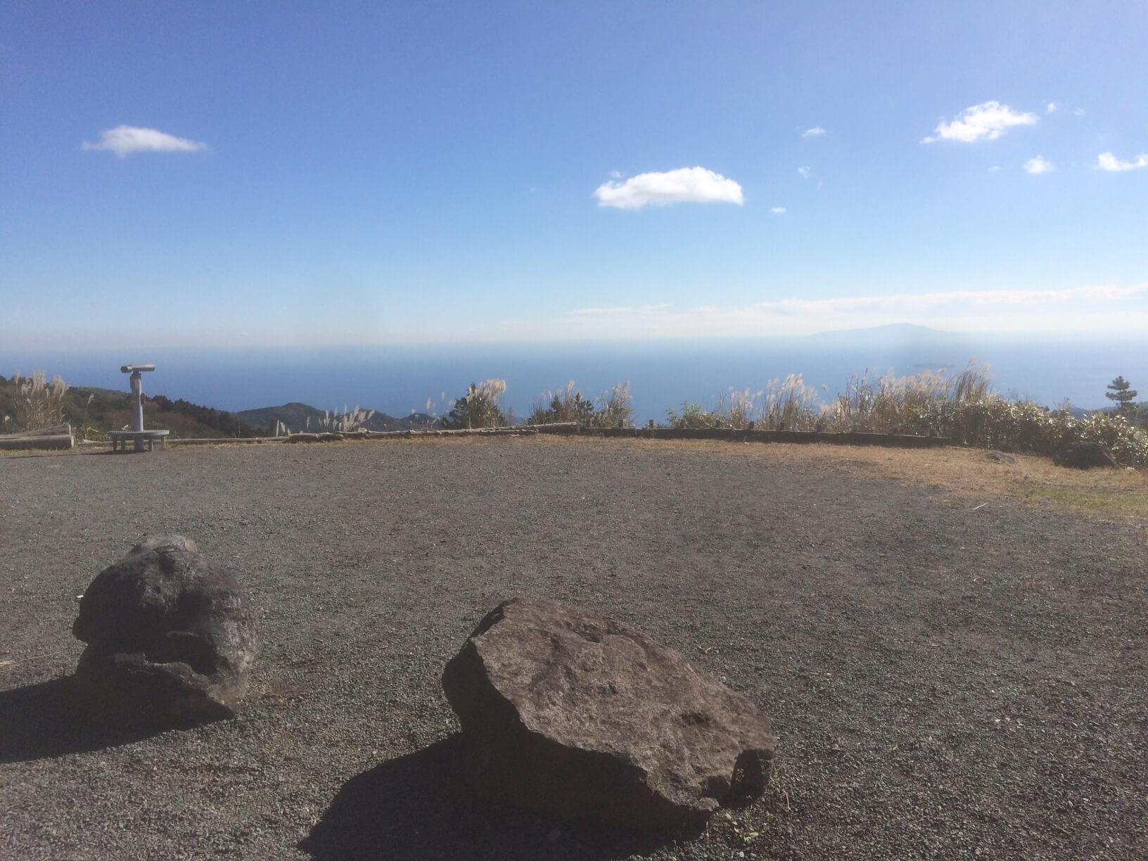 箱根ターンパイク休憩所