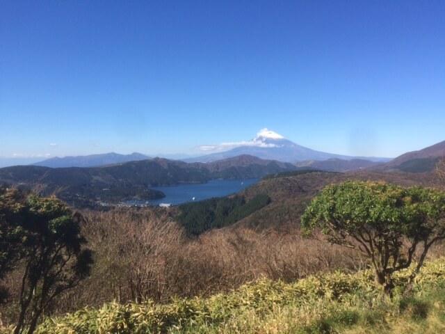 箱根大観山からの富士山