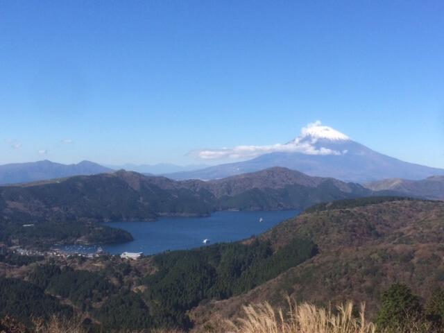 箱根大観山から見える富士山