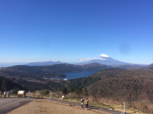 大観山から見える富士山