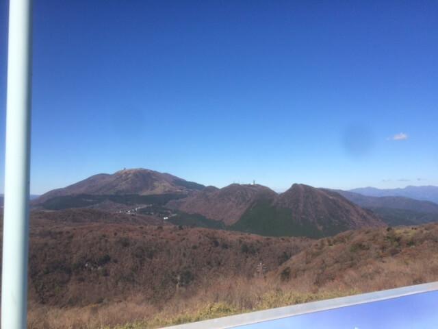 大観山から見える箱根駒ヶ岳