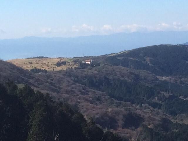 大観山から見える芦ノ湖スカイライン